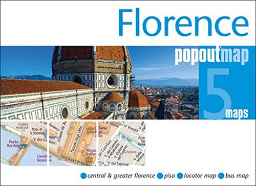 Florence PopOut Map By PopOut Maps