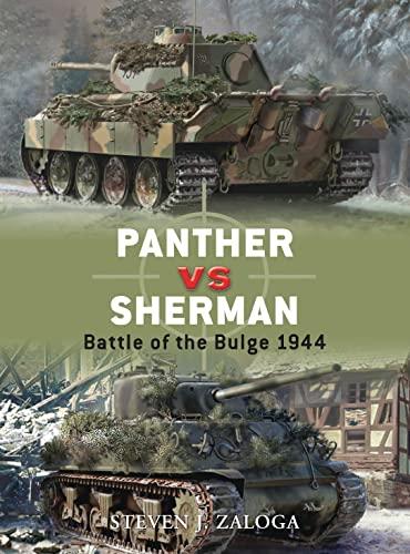 Panther Vs Sherman By Steven Zaloga
