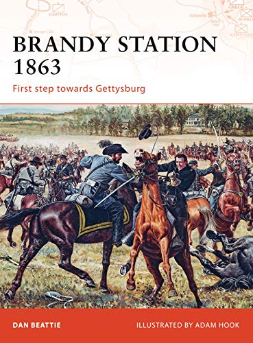 Brandy Station 1863 By Dan Beattie