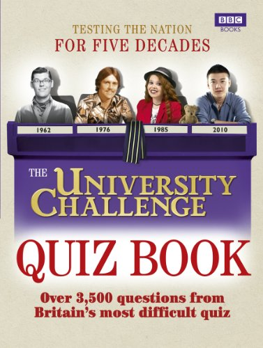The University Challenge Quiz Book By Steve Tribe