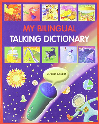 My Bilingual Talking Dictionary in Slovakian and English By Mantra Lingua