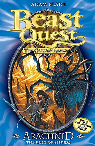 Beast Quest: Arachnid the King of Spiders By Adam Blade