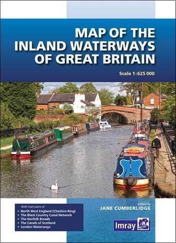 Map of the Inland Waterways of Great Britain By Jane Cumberlidge