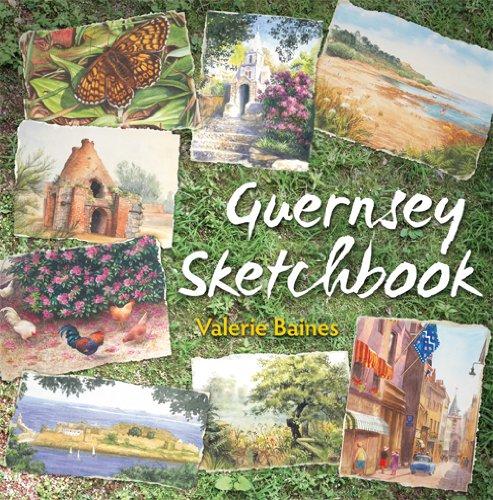 Guernsey Sketchbook By Valerie Baines