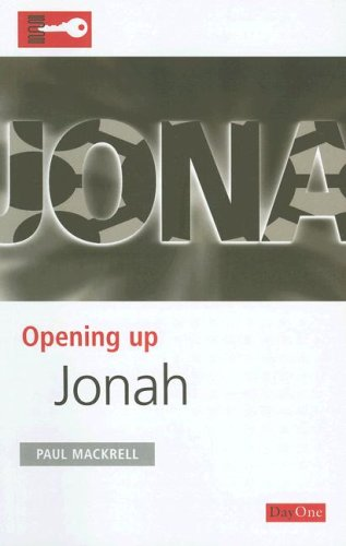 Opening Up Jonah By Paul Mackrell