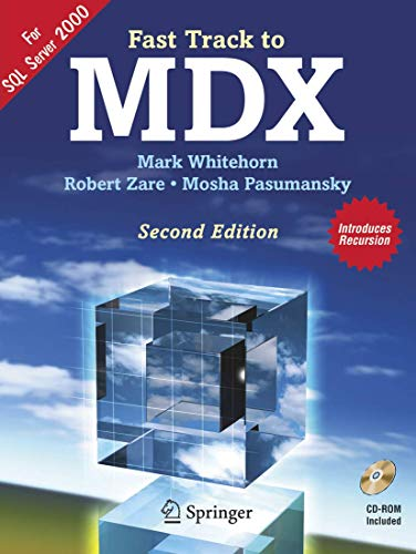 Fast Track to MDX By Mark Whitehorn