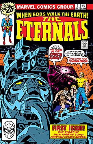 The Eternals Vol. 1 By Jack Kirby