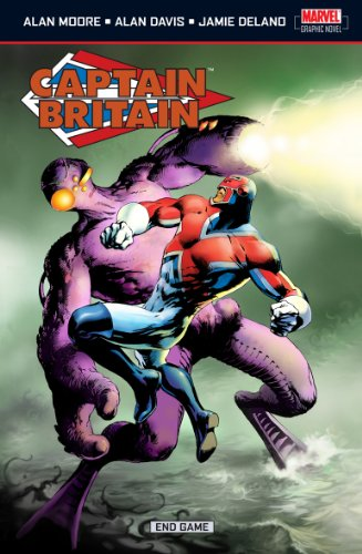 Captain Britain Vol.5: End Game By Alan Moore