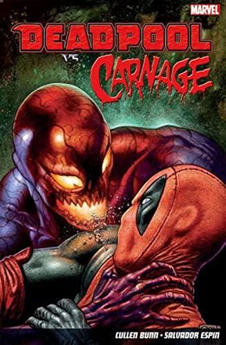 Deadpool Vs. Carnage By Salvador Espin