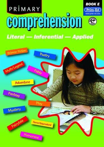 Primary Comprehension By Prim Ed Publishing Used Very
