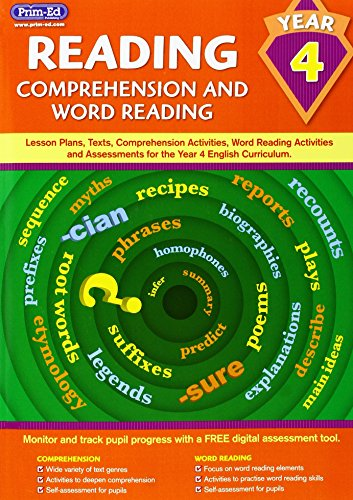 Reading - Comprehension and Word Reading By Prim-Ed Publishing