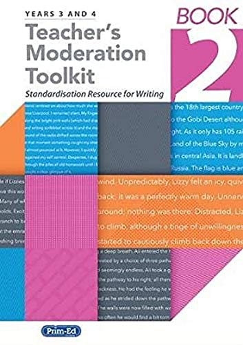 Teacher's Moderation Toolkit By Edited by Maddy Barnes