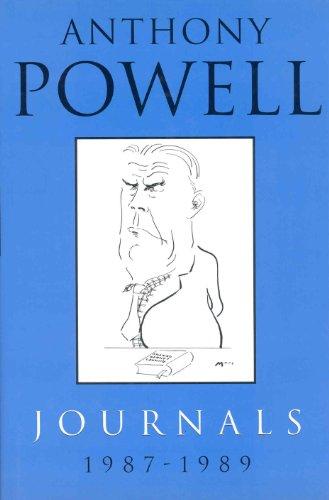 Journals 1987-1989 von Anthony Powell