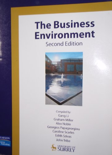 The Business Environment By Li Gang