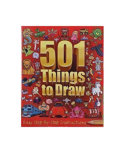 501 Things to Draw: Ultimate Collection Folder by