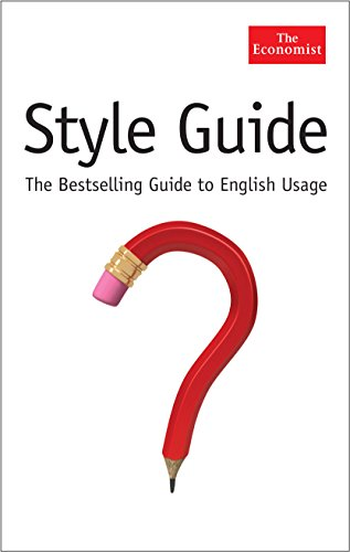 The Economist Style Guide by Economist
