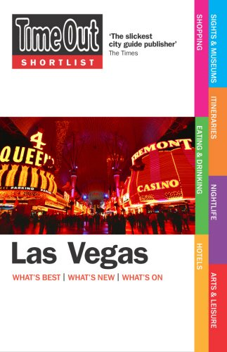 Time Out Shortlist Las Vegas - 1st Edition By Time Out Guides Ltd