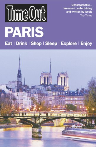 Time Out Paris 21st edition By Time Out Guides Ltd