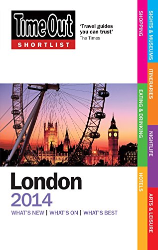 Time Out Shortlist London 2014 by Time Out Guides Ltd.