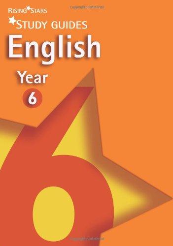 Rising Stars Study Guides English Year 6 von various
