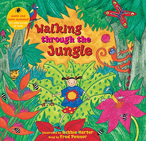 Walking Through The Jungle By Stella Blackstone