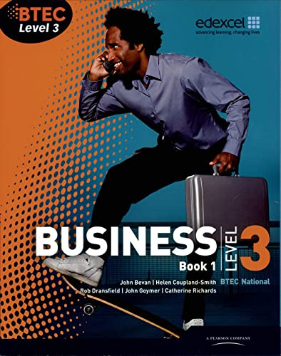 BTEC Level 3 National Business Student Book 1 (Level 3 BTEC National Business) By Catherine Richards