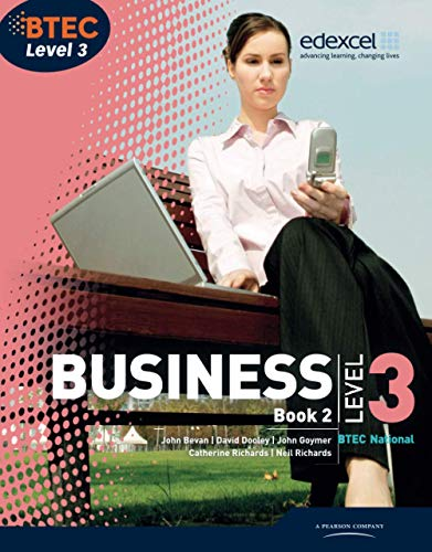 BTEC Level 3 National Business Student Book 2 (Level 3 BTEC National Business) By Catherine Richards