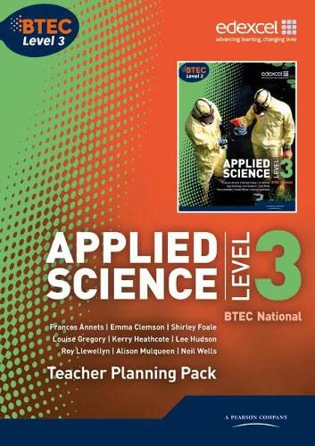 BTEC Level 3 National Applied Science Teacher Planning Pack by Frances Annets