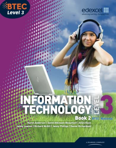 BTEC Level 3 National IT Student Book 2 (BTEC National for IT Practitioners) Edited by Jenny Lawson
