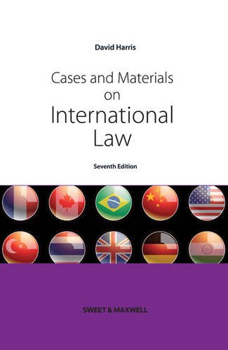 Cases and Materials on International Law By D.J. Harris
