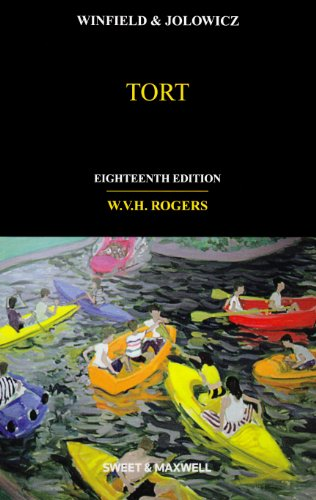 Winfield and Jolowicz on Tort By W. V. H. Rogers
