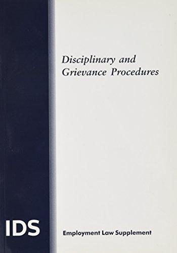 Disciplinary-and-Grievance-Procedures-Paperback-IDS-Employment-La-1847039685