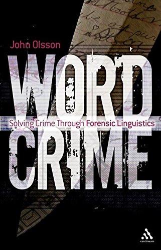 Wordcrime By John Olsson