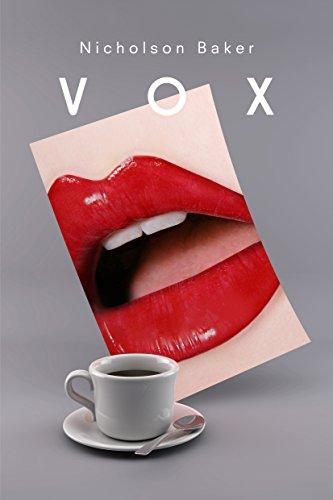 Vox By Nicholson Baker