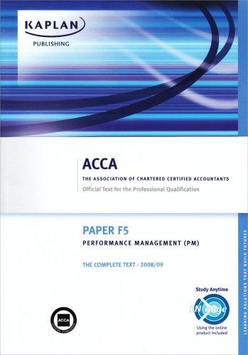 F5 Performance Management PM