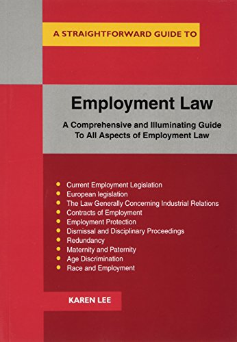 Employment Law (Straightforward Guide to) By Karen Lee