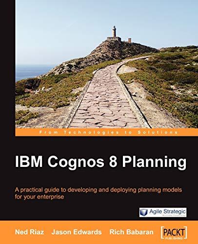 IBM Cognos 8 Planning By Jason Edwards