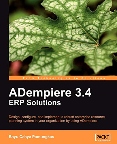 ADempiere 3.4 ERP Solutions By Bayu Cahya Pamungkas