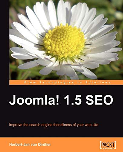 Joomla! 1.5 SEO By Herbert-Jan Van Dinther