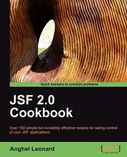 JSF 2.0 Cookbook By Anghel Leonard