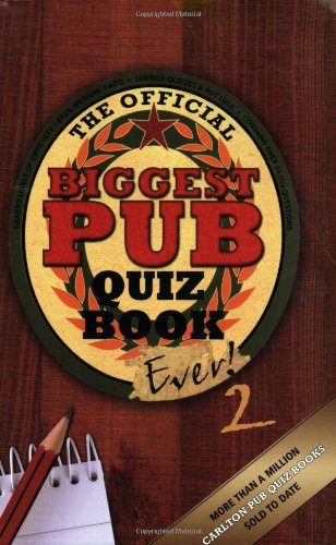 The Biggest Pub Quiz Book Ever! 2 by Roy Preston