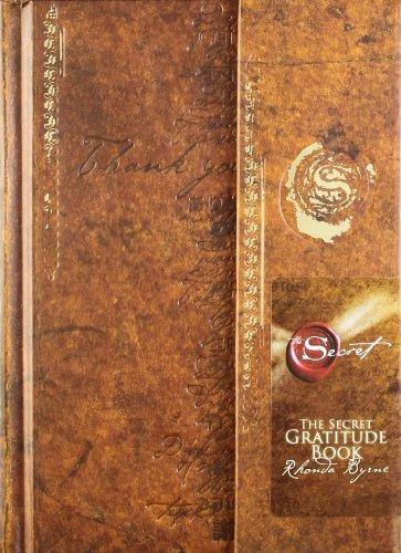Secret Gratitude Book by Rhonda Byrne