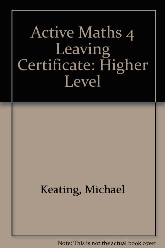 Active Maths 4 Leaving Certificate By Michael Keating