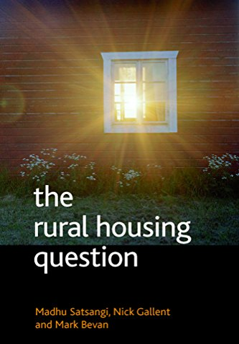 The rural housing question By Madhu Satsangi