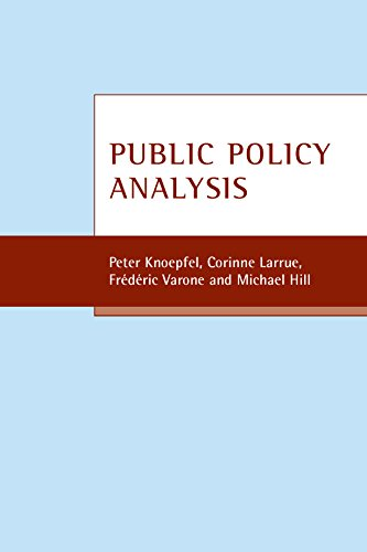Public policy analysis By Peter Knoepfel