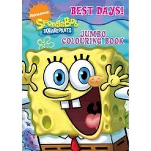 SpongeBob Squarepants Jumbo Colouring Book Book The Fast ...