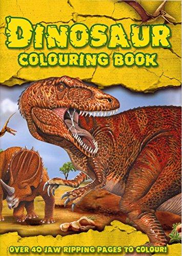 Alligator Books Dinosaur Colouring Book