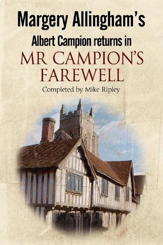 Mr Campion's Farewell By Mike Ripley