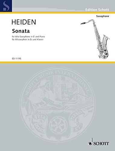 Sonata Saxophone By Bernhard Heiden