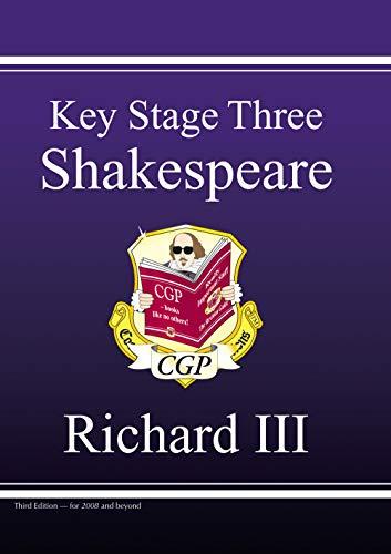 KS3 English Shakespeare Test Guide - Richard III By CGP Books